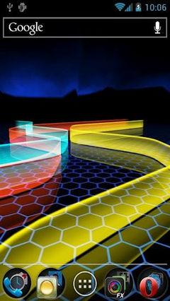 A Neon Path