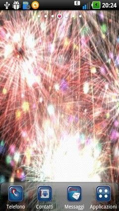 Abstract Fireworks Lwp