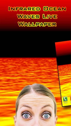Infrared Ocean Waves