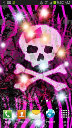 Girly Skull Sparkles