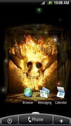 Fire Skull 3D