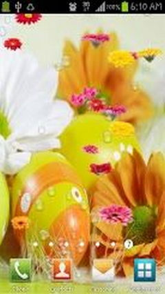 Easter Flowers Livewallpaper