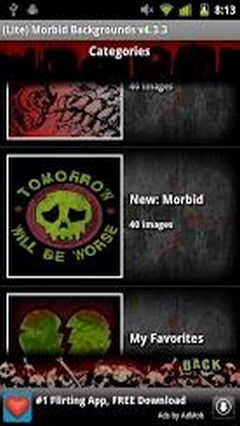 Morbid Backgrounds