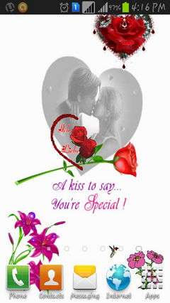 A Kiss to Say......