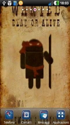 Android Wanted Lwp