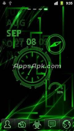 Neon Clock Live.apk