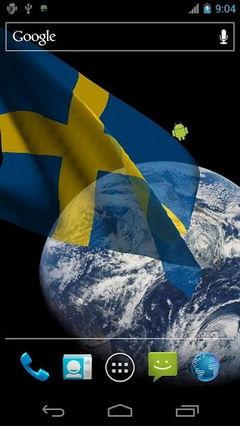 3D Sweden Flag
