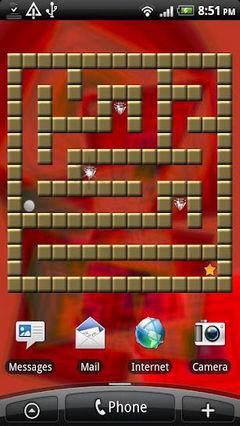 Diamond maze