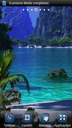 Karibischen Strand Lwp