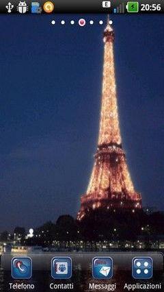 Tour Eiffel La Nuit Lwp