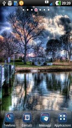 Cool Sunset Lake Lwp