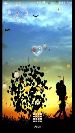 Galaxy S5 Hearts