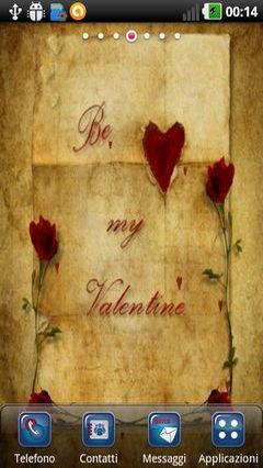 Valentine Love Letter Lwp
