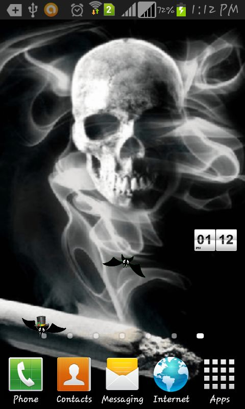 Smoking Feels U Skull