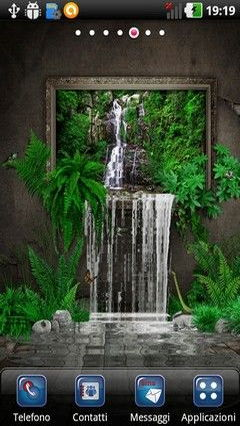 Unreal Waterfall Lwp