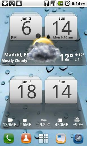 MIUI-Digital-Weather-Clock