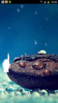 Galaxy S4 Rain n Coffee Grain