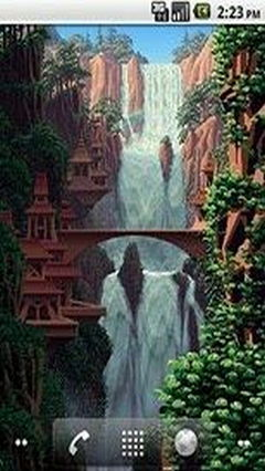 8bit Waterfall
