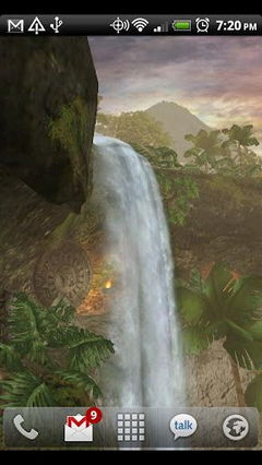 Jungle Waterfall
