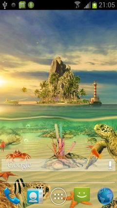 3D Ocean Aquarium Live Wallaper 1.1