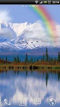 Beautiful lakeside