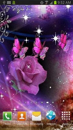 Purple Butterfly Rose