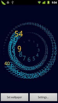 Analogy Clock Live Walpaper 1.0