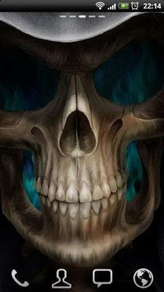 Skeleton in HellFire new