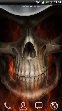 Skeleton in HellFire new