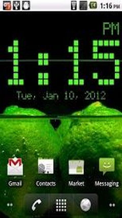 Super Digital Clock Widget