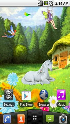 Fairy land animated