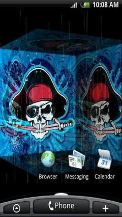 Jolly Roger Pirate 3D