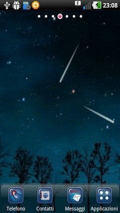 Comets Falling