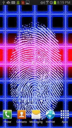 Blue Fingerprint Security