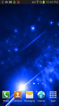 Blue Star Galaxy