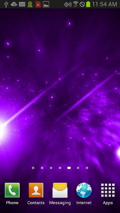 Purple Star Galaxy