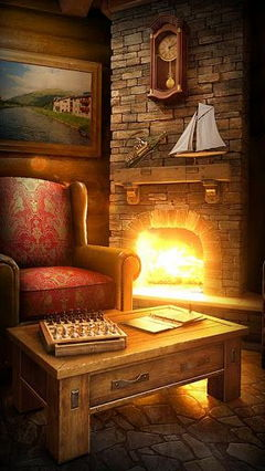 My Log Home iLive WallPaper