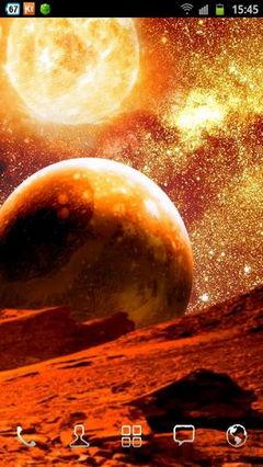 Fiery Galaxy 3D