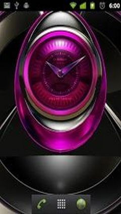 Edel clock widget ROSE