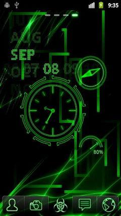 Neon Clock 2.1