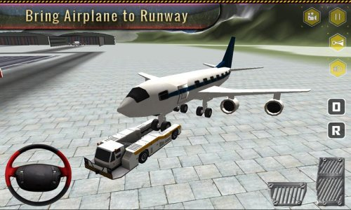Airport Plane Ground Staff 3D