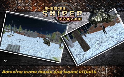 American Sniper 3D Assassin