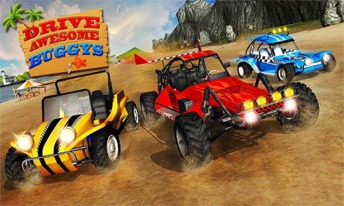 Buggy Stunts 3D: Beach Mania
