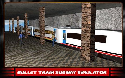 Bullet Train Subway Simulator