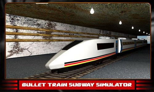 Bullet Train Subway Simulator