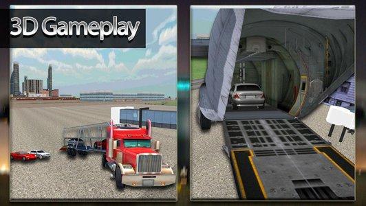 Car Transporter Cargo Plane 3D