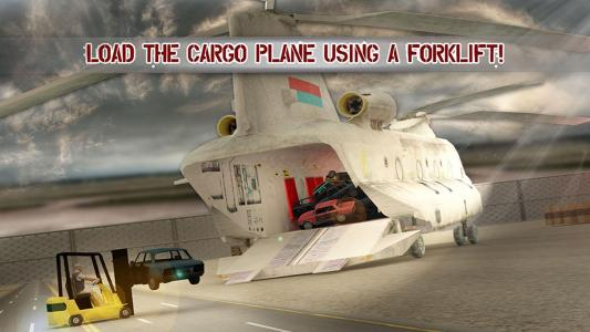 Cargo Helicopter Car Transport