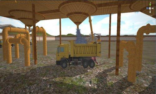 camión simulador: construcción