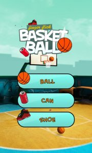 Finger Flick Basketball