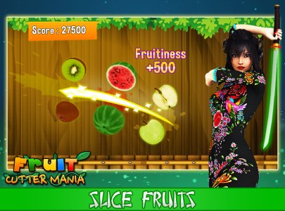 Fruit Cutter Mania